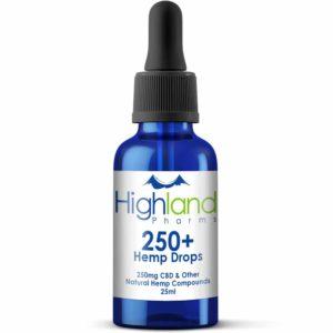 highalnd pharms 250mg hemp cbd drops