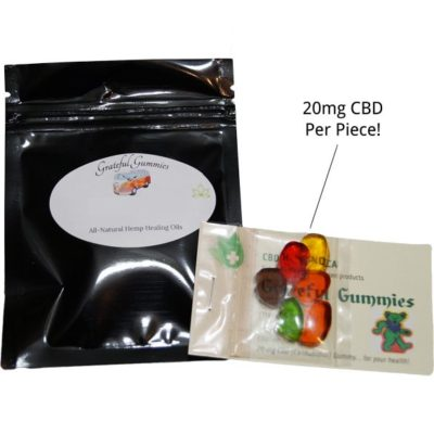 Grateful Gummies CBD Gummy Bears
