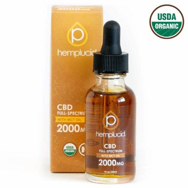 hemplucid organic mct oil 2000mg