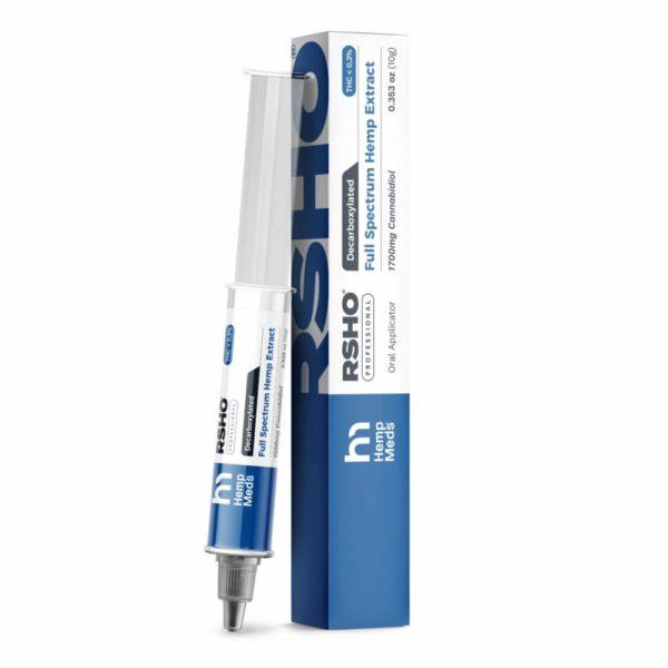 RSHO BLUE Label CBD Oil