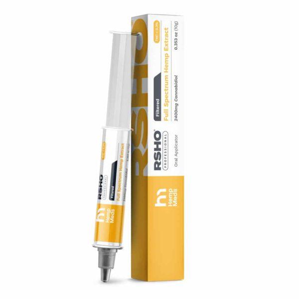 RSHO Gold Label 10 gram CBD Oil Extract Tube