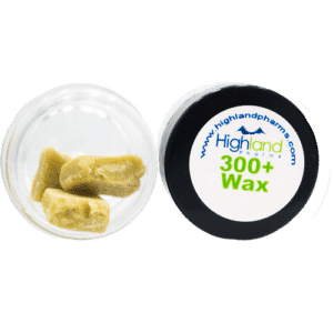 highland Pharms 300+ cbd wax 30%