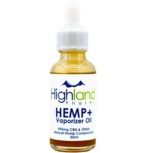 Highland Pharms CBD Vape Oil 30ml