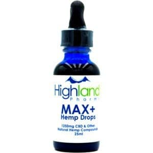 highland pharms max cbd drops
