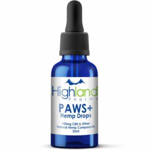 highland pharms paws pet cbd drops