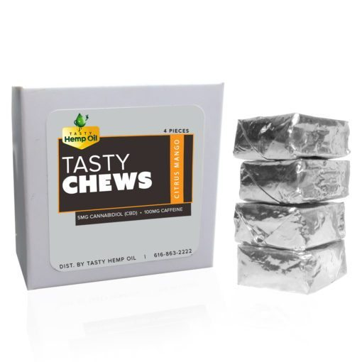 Tasty Chews CBD Edibles Caffeine