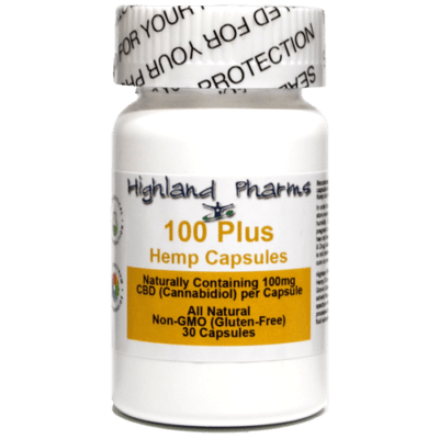 100mg CBD Capsules from Highland Pharms