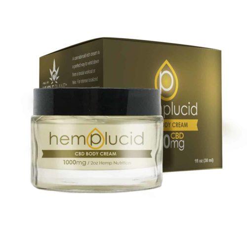 Hemplucid CBD Body Butter 1000mg