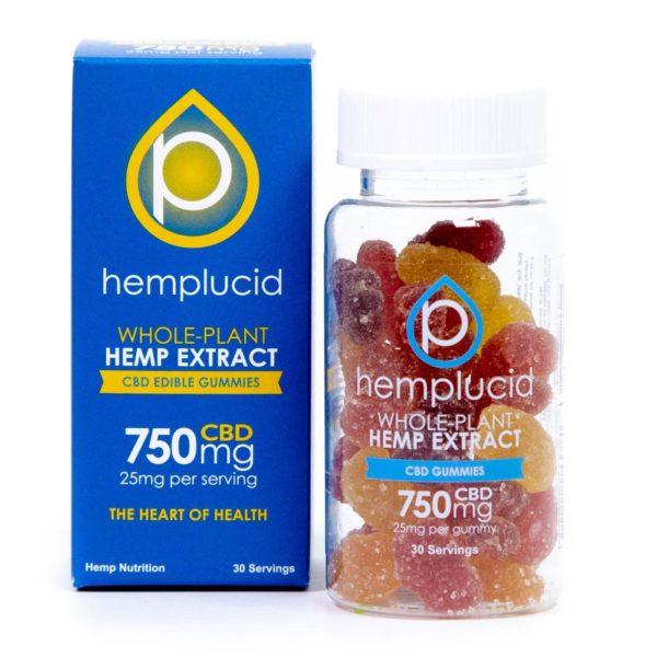 Hemplucid CBD Gummy 30ct 25mg