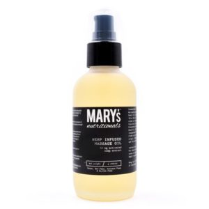 Mary's Nutritionals CBD Massage Oil