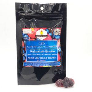 hemp indica organic CBD gummy hearts
