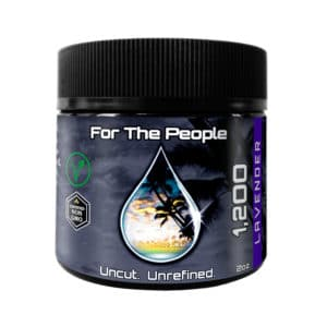 CBD For The People 1200mg Lavender Salve