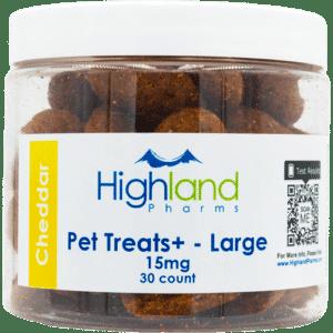 Highland Pharms CBD Pet Treats Large 15mg 30ct