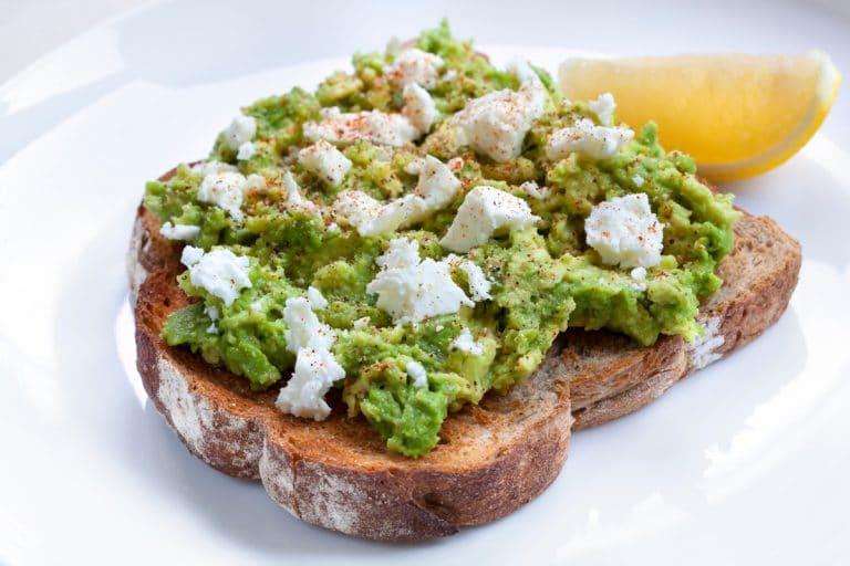 cbd avocado toast