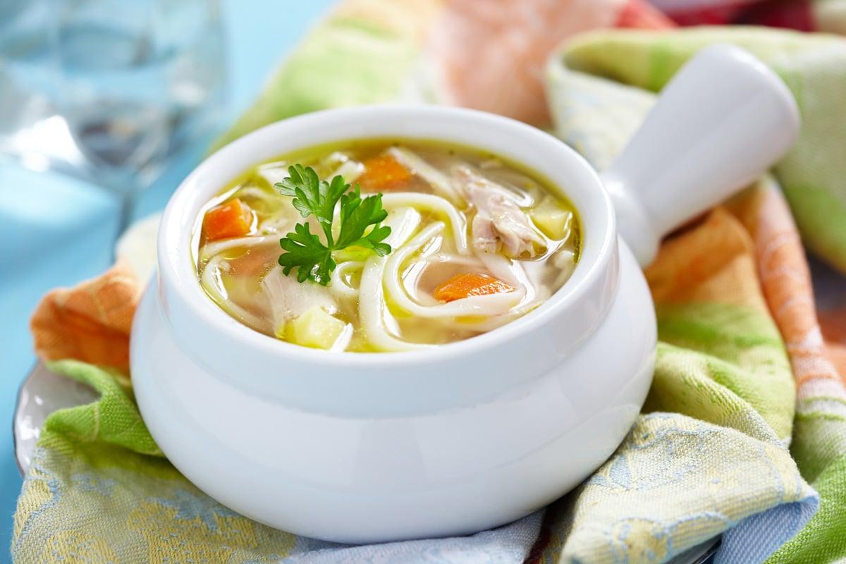 Ultimate CBD Chicken Noodle Soup Recipe