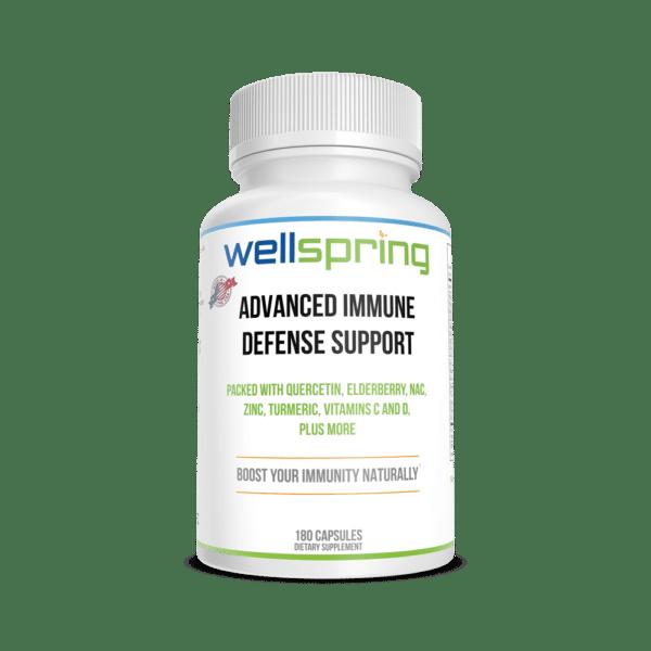 Advanced Defense Immune Support Supplement By WellspringCBD.com