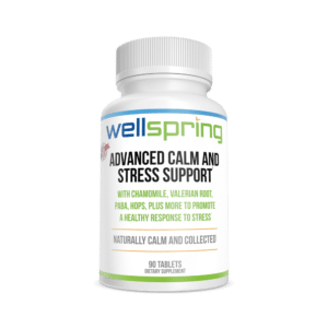 Advanced Calm and Stress Support Health Supplement from WellspringCBD.com