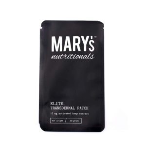 Mary's nutritionals cbd transdermal patches