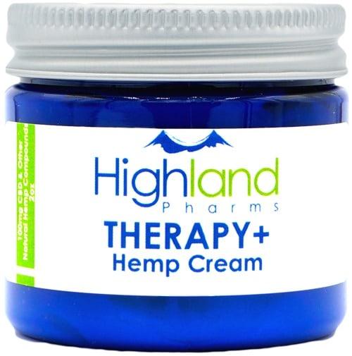 Highland Pharms Therapy Plus Hemp Lotion 2 ounce