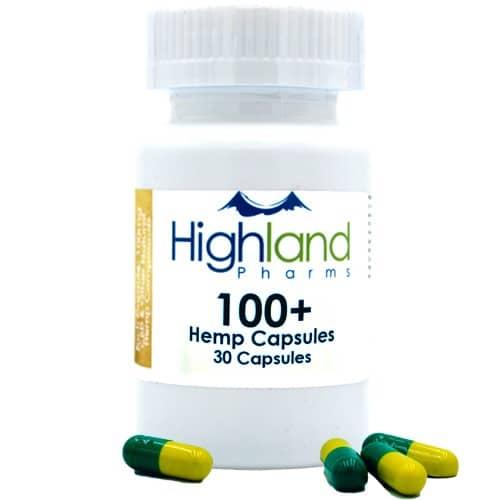 100mg CBD Capsules from Highland Pharms