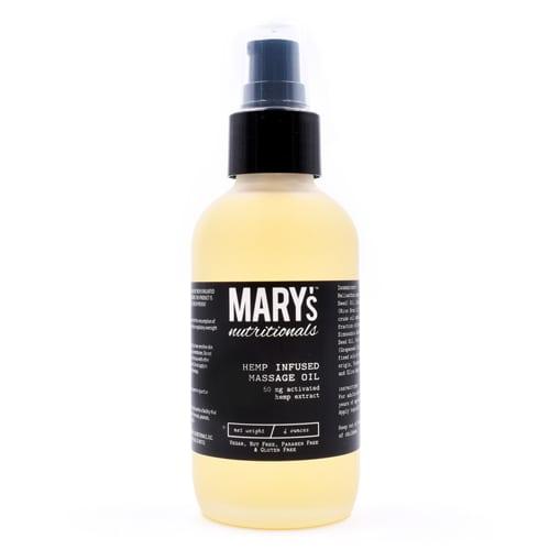 Mary's Nutritionals CBD Massage Oil