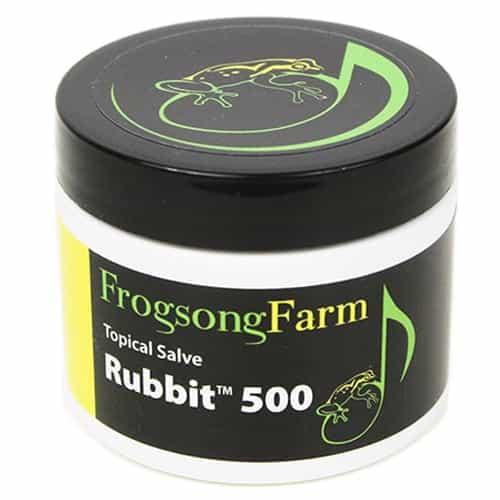Frogsong Farm Rubbit 500 CBD Salve