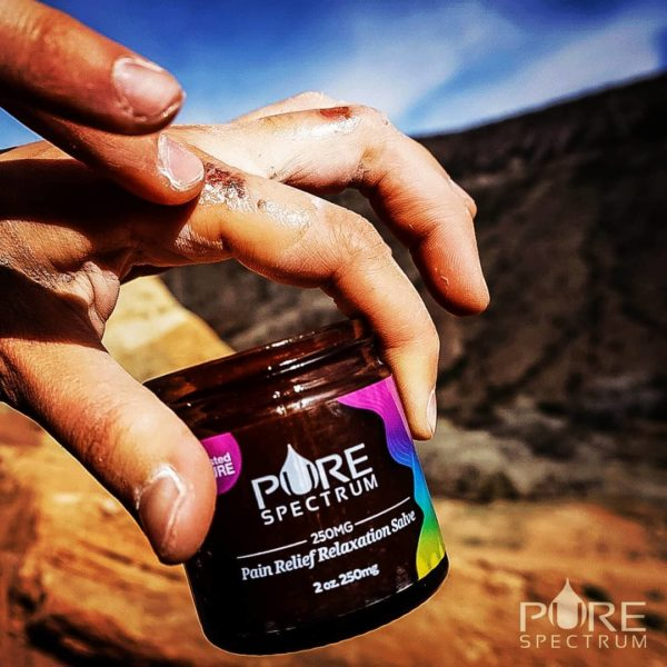 relaxation cbd salve on wounds