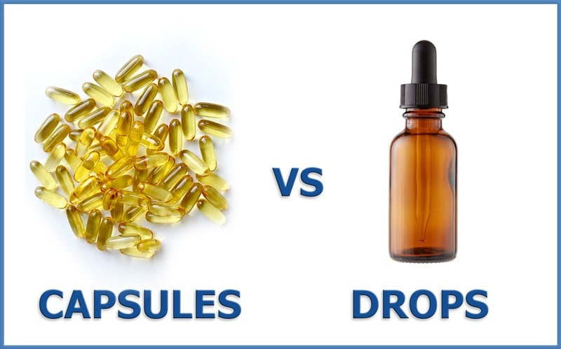 cbd capsules vs drops - which is best for you
