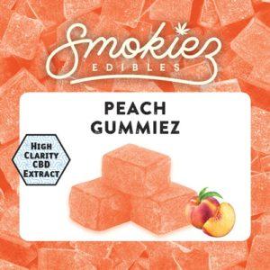 Smokiez CBD Peach Gummiez