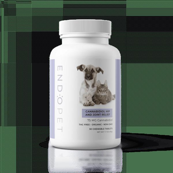 endopet cbd joint support pet treats