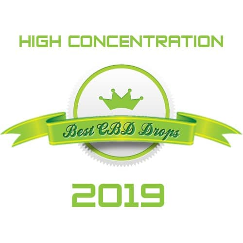 best high concentration cbd drops 2019