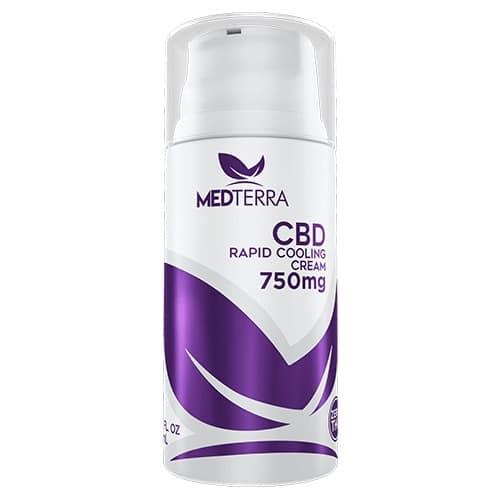medterra cbd rapid cooling cream 750mg