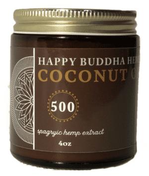 Happy Buddha Hemp Spagyric CBD Coconut Oil