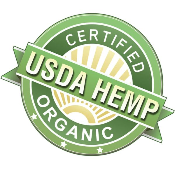 USDA Certified Organic Hemp