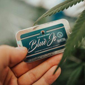 Blue Ridge Blue js cbd prerolls