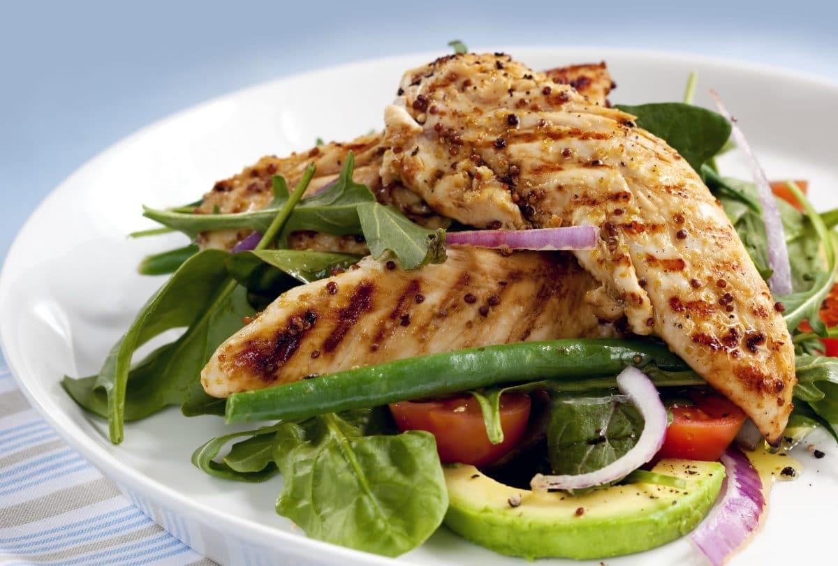 CBD Chicken Avocado Salad